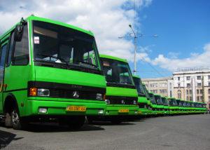 В Запорожье спринтеры заменят на большие автобусы к 2019 году