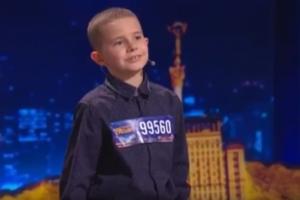 Юный запорожец удивил всех на шоу