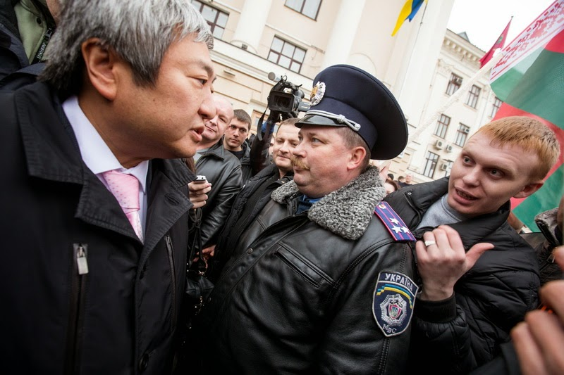 Экс-замглавы Нацполиции Андрей Долинный  поздравил спецназовцев с годовщиной создания «Беркута»