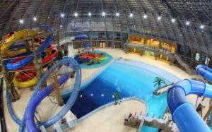 В Запорожье предлагают построить крытый аквапарк