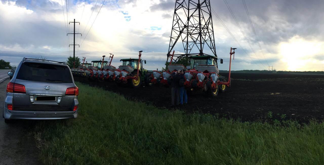 В Запорожской области фермер самовольно захватил 84 гектара земли - ФОТО