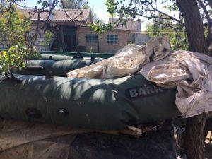 Запорожский браконьер угрожал сотрудникам прокуратуры ножом - ФОТО
