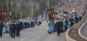 В Запорожье на Троицу будут перекрывать проспект из-за Крестного хода