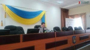 Начальник запорожской полиции Олег Золотоноша отчитался о проделанной работе