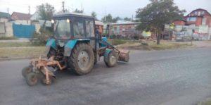 В Запорожской области фура растеряла по дороге пять тонн щебня