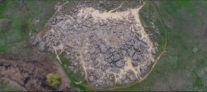 Красоты запорожской Каменной Могилы показали с высоты птичьего полета - ВИДЕО