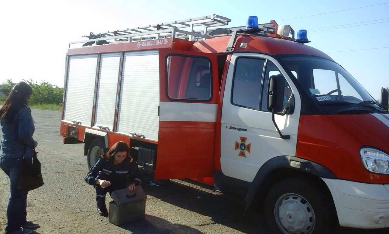 Спасатели ликвидируют последствия ДТП с пассажирским автобусом на запорожской трассе - ФОТО