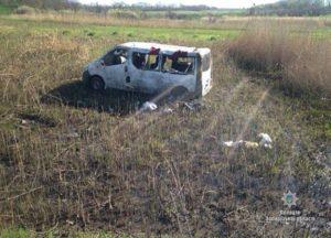 В Запорожской области произошло жуткое ДТП с маршруткой: один человек погиб, пятеро в больнице - ФОТО