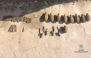 В Запорожской области нашли боеприпасы и взрывчатку - ФОТО