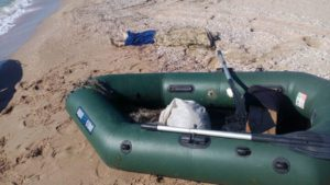 В Запорожской области утонул рыбак и едва не погибли трое молодых людей - ФОТО