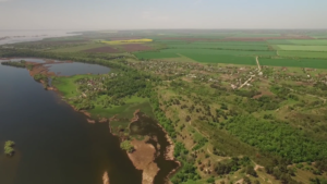 В сети появились новые живописные виды Запорожской области с высоты птичьего полета - ВИДЕО