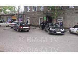 В Мелитополе мэр города попал в ДТП - ФОТО