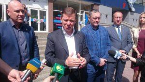 Запорожье посетил лидер Радикальной партии Олег Ляшко - ФОТО, ВИДЕО
