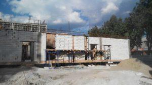 В центре Запорожья незаконно строили новый офисно-торговый центр - ФОТО