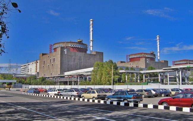 Назапорожской АЭС аварийно остановлен энергоблок