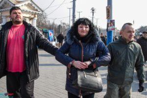 В Запорожье правоохранители возбудили уголовное дело против лидера мелитопольского Антимайдана, которая прославилась благодаря фейкам про соль