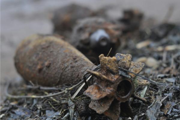 В Запорожской области обнаружили несколько десятков взрывоопасных снарядов