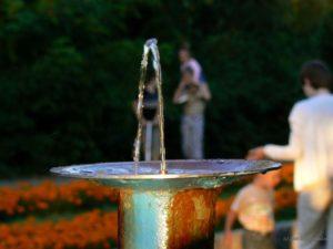 В Запорожье хотят установить на центральном проспекте питьевые фонтанчики