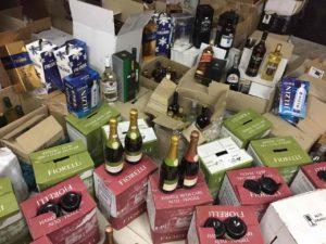 Конфискат алкоголя: запорожские фискалы изъяли из незаконного оборота подакцизной продукции на 9,6 миллиона гривен