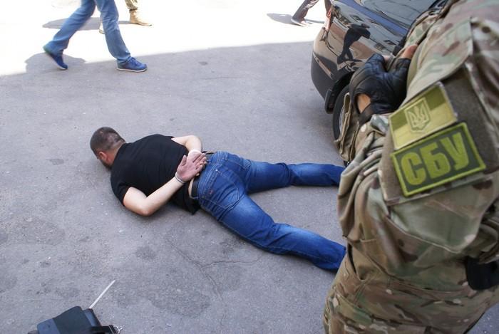 СБУ задержала вЗапорожье банду полицейских-грабителей