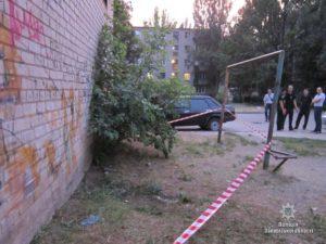 В Запорожье серьезно избили патрульного: он находится в больнице в тяжелом состоянии - ФОТО