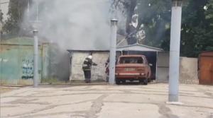 В Запорожской области пожар едва не перекинулся на детский сад - ФОТО, ВИДЕО