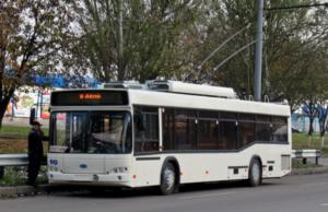 В Запорожье временно ограничат движение одного из троллейбусных маршрутов