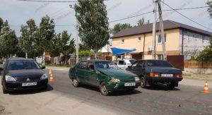 В Запорожской области из-за ДТП образовалась пробка - ФОТО
