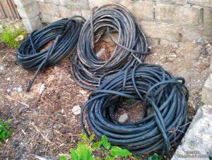 В Запорожской области задержали кабельных воров - ФОТО