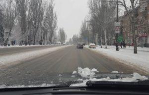 Зима близко: в Запорожье на зимнее содержание дорог выделят 30 миллионов гривен