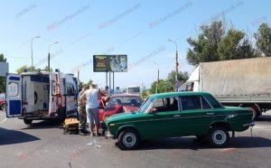 В Запорожской области на самом аварийном перекрестке произошло очередное ДТП - ФОТО