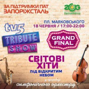 В Запорожье пройдет масштабный концерт под открытым небом с участием симфонического оркестра