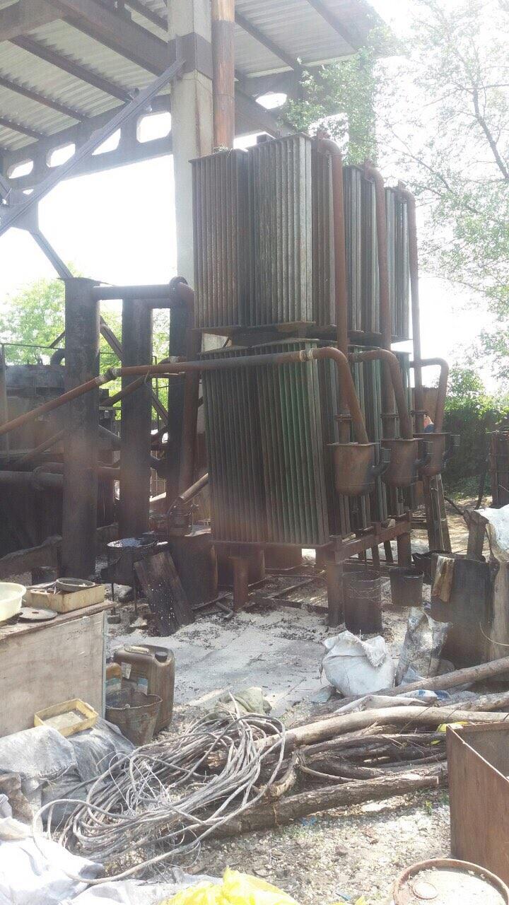 В Запорожье накрыли подпольный мини-завод по изготовлению некачественного топлива - ФОТО