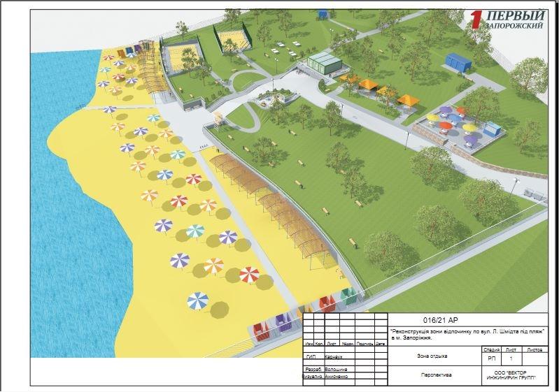 Тендер на реконструкцию пляжа в Заводском районе за 7 миллионов гривен получила столичная фирма