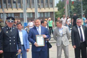 В Запорожье приехал глава МВД Арсен Аваков: полицейские получили новые внедорожники - ФОТО