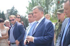 Арсен Аваков в Запорожье проверил работу водного патруля и бойцов «КОРДа» - ФОТО