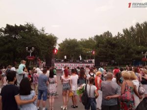 В Запорожье состоялся праздничный концерт ко Дню Конституции - ФОТО, ВИДЕО