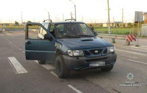 В Запорожской области на блокпосту остановили автомобиль с боеприпасами - ФОТО