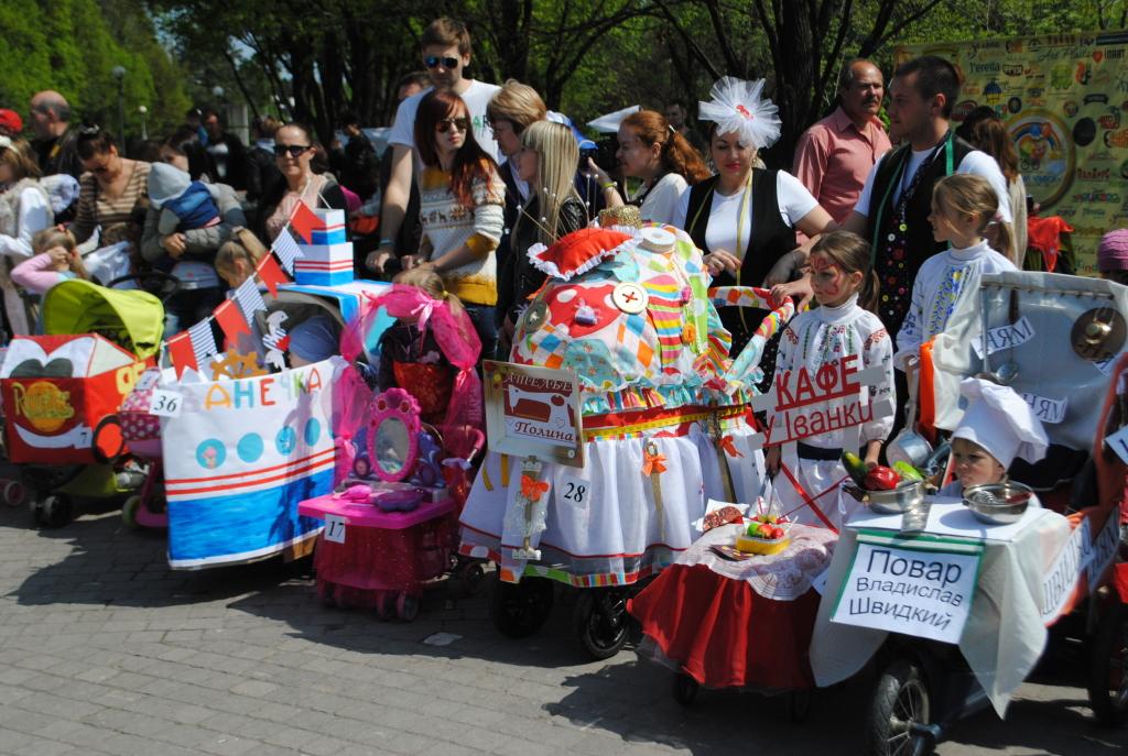 В Запорожье состоится Парад детских колясок
