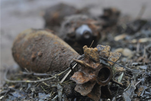 В Запорожской области нашли и обезвредили опасные боеприпасы - ФОТО