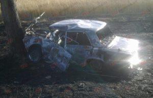 Появились фотографии сгоревшего дотла автомобиля - ФОТО