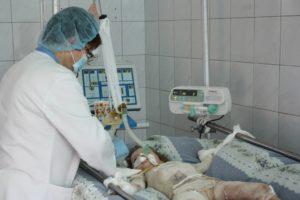 Четырехлетнюю девочку из Запорожской области, получившую ожоги от игры со спичками, заберут на лечение в Бостон