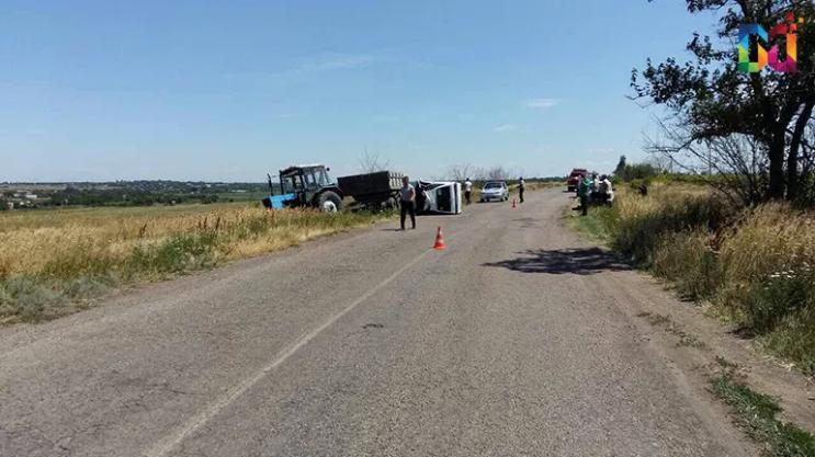 В Запорожской области произошло серьезное ДТП: пострадавший в коме - ФОТО
