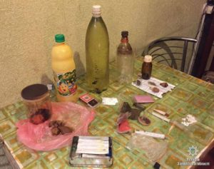 В Запорожской области накрыли очередной наркопритон - ФОТО
