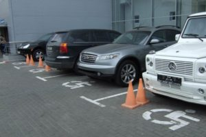 В Запорожье повысят штрафы за парковку на местах для инвалидов