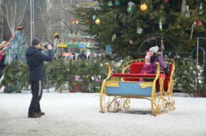 Из бюджета области выделят 2,3 миллиона гривен на проведение новогодне-рождественского фестиваля