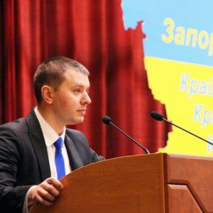 Депутат Запорожского областного совета через полтора года работы «попросился» решать бюджетные вопросы