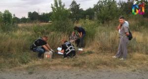 В Запорожской области нашли тело мужчины с перерезанным горлом - ФОТО