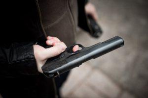 В Запорожье остановили вооруженного водителя - ФОТО