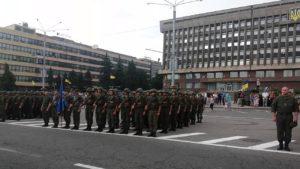 В Запорожье на День независимости по проспекту пройдут военнослужащие и колонна военной техники